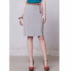 Anthro Pilcro and the Letterpress Railroad Skirt
